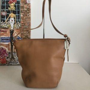 Coach Soho Vintage 9186 Camel Tan Leather Bag